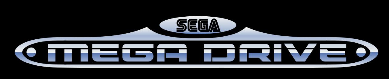 File Megadrive Logo Png Retro Register