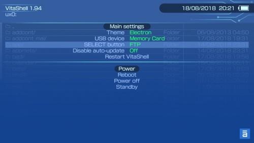 PlayStation Vita - Retro Register